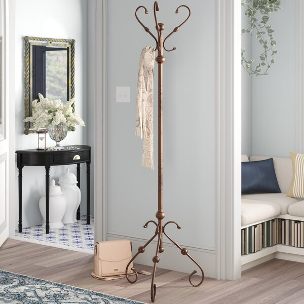Metal Coat Rack by Charlton Home