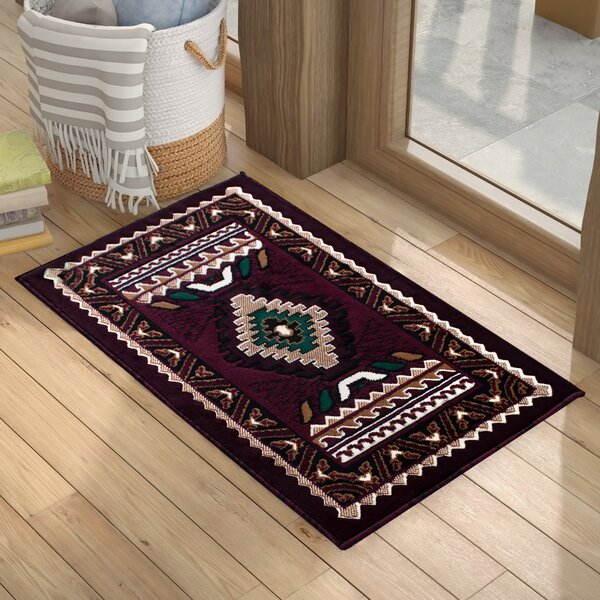 Iberide High-Quality Woven Southwest Doormat by Loon Peak