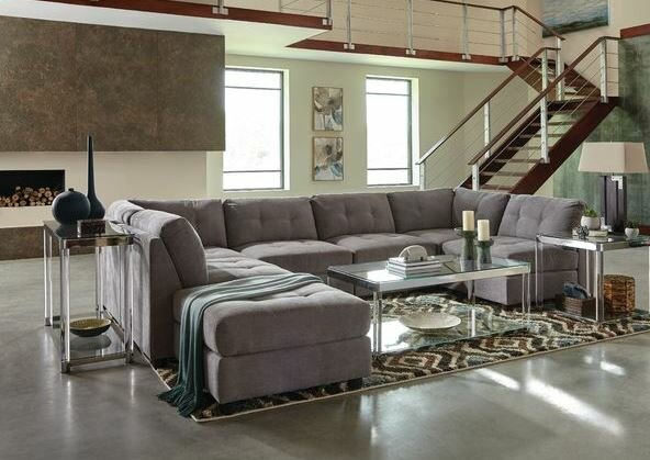 Fowles Modular Sectional with Ottoman by Brayden Studio