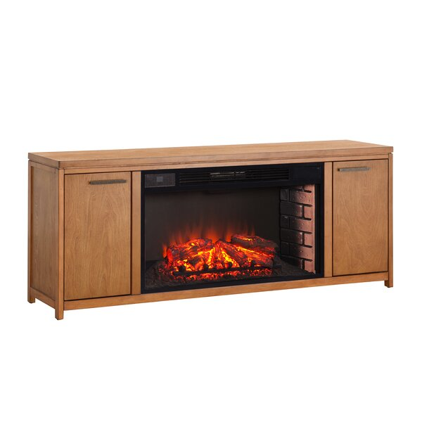 Jowers Widescreen 60 TV Stand with Fireplace by Latitude Run