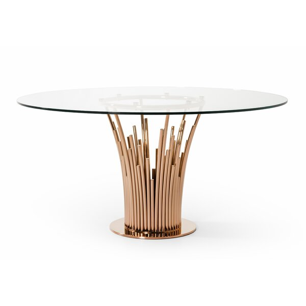 Tyronza Modern Dining Table by Everly Quinn