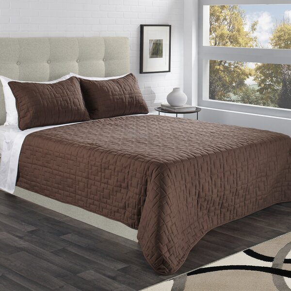 Carpio Serenity Coverlet Set by Winston Porter