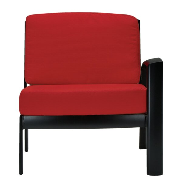 South Beach Left Side Module Chair with Cushion by Tropitone Tropitone