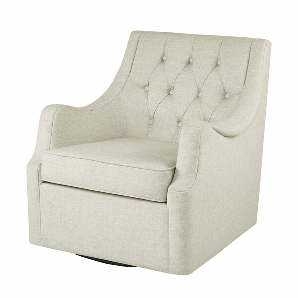 Rogersville Swivel Armchair by Three Posts