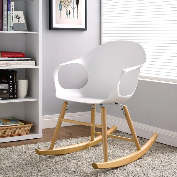 Swerve Rocking Chair by Modway