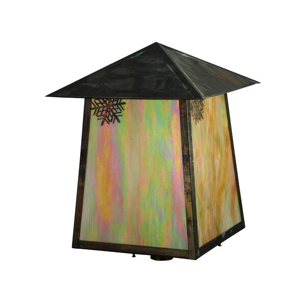 Greenbriar Oak 1-Light Lantern Head by Meyda Tiffany