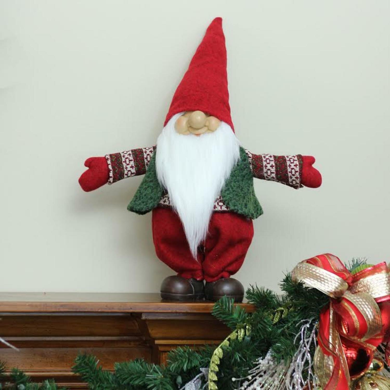 northlight gnome christmas tabletop decoration reviews wayfair