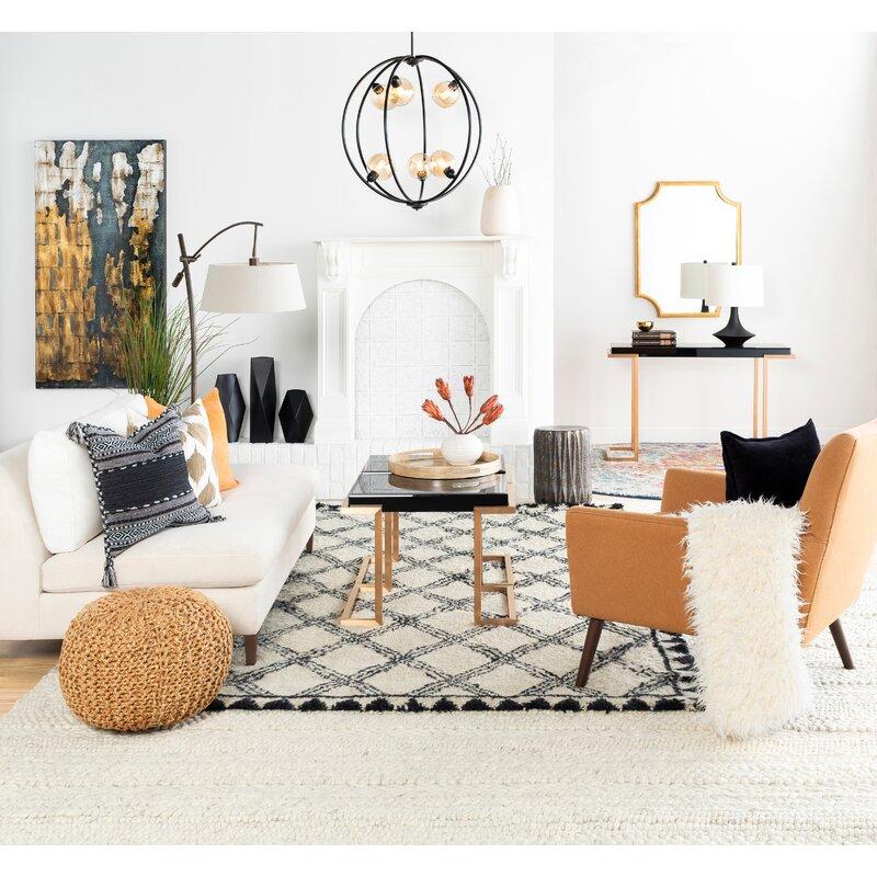 Beachcrest Home Odin Pouf Reviews Wayfair