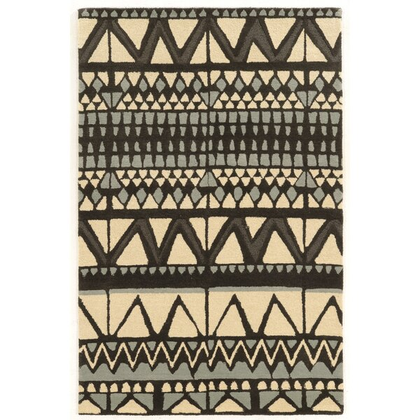 Abattoirs Hand-Tufted Beige/Gray Area Rug by Bungalow Rose