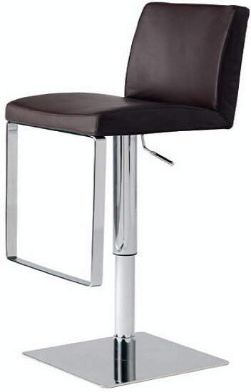 Hosler Hydraulic Adjustable Height Swivel Bar Stool by Orren Ellis