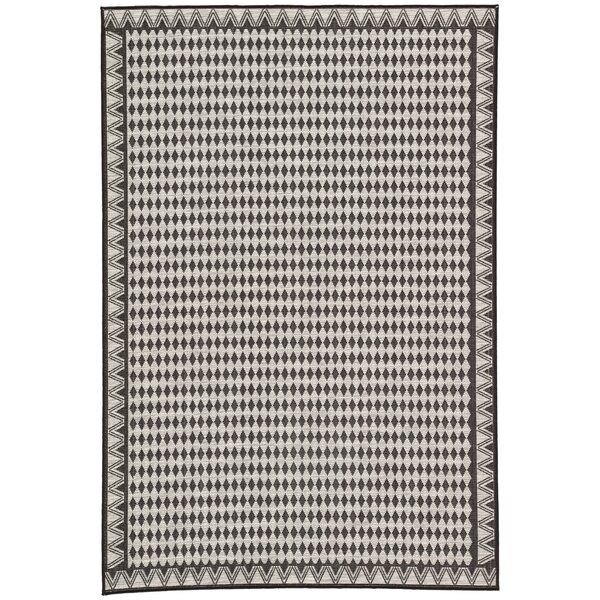 Nikki Chu Silver Indoor/Outdoor Area Rug by Nikki Chu