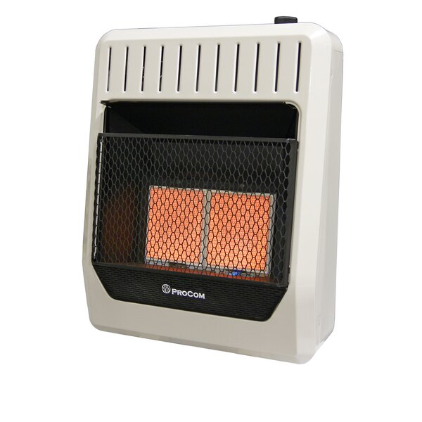 Review Heating Dual Fuel Ventless Plaque Natural Gas And Propane Infrared Wall Mounted Heater With Automatic Thermostat