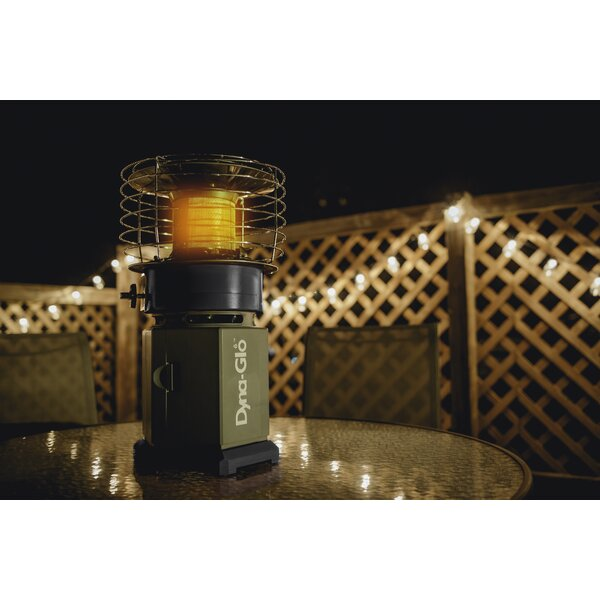 10000 BTU Propane Infrared Compact Heater By Dyna-Glo