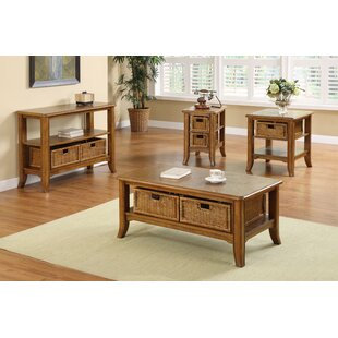 Kentmere 4 Piece Coffee Table Set Breakwater Bay