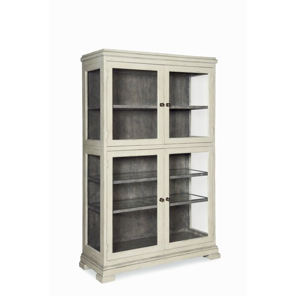 Veranda Arbor Lighted Curio Cabinet by Fine Furniture Design