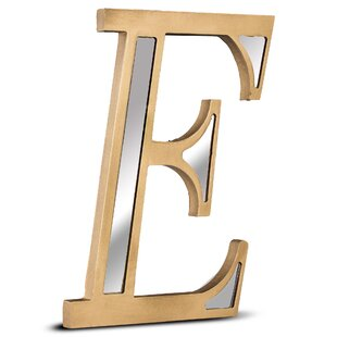 guerdine mirror hanging wall letter