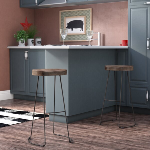 Ardella 24 Bar Stool by Laurel Foundry Modern Farmhouse