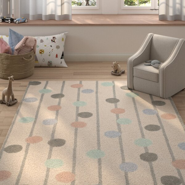Claro Hand-Tufted Ivory Area Rug by Harriet Bee