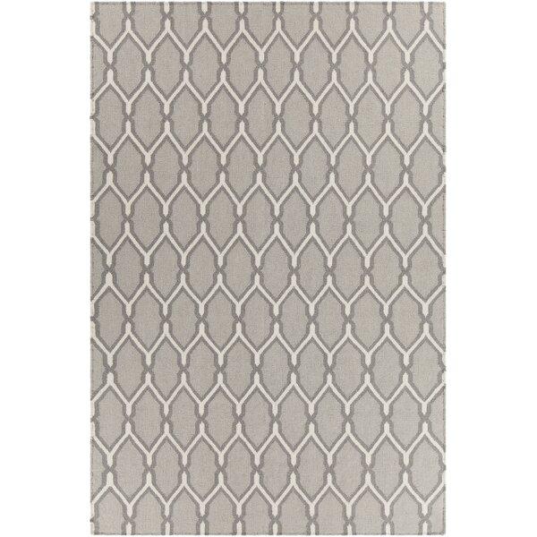 Antoinette Reversible Wool Gray Area Rug by Corrigan Studio