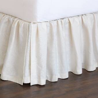 Eastern Accents Fresco Classic 100 Egyptian Cotton Ruffled Bed Skirt Perigold