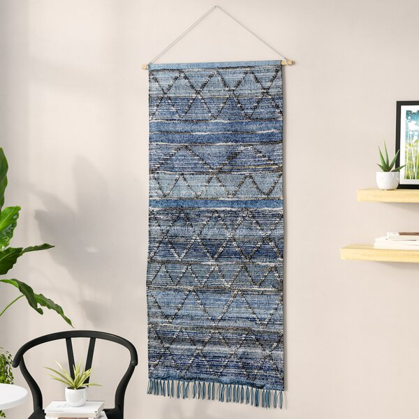 Hand Woven Wall Hanging By Langley Street.