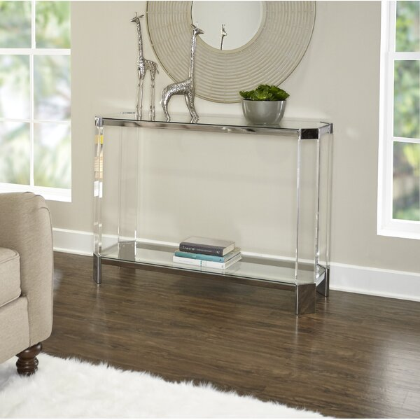 Hysell Console Table by Orren Ellis