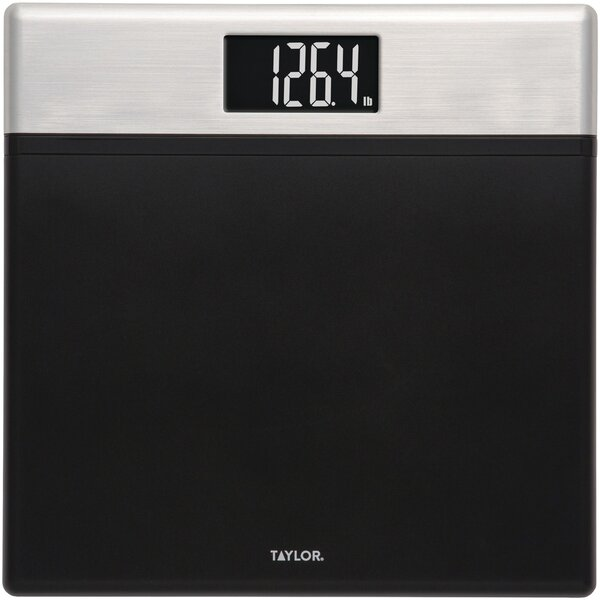 Textured Digital Scale with Glass Core by Taylor