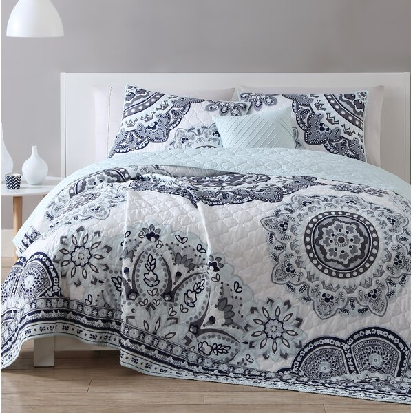 Partida 4 Piece Quilt Set by Bungalow Rose