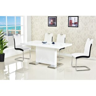Edgao 5 Piece Dining Set By Orren Ellis