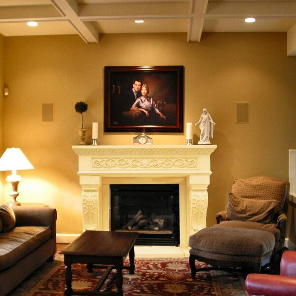 Chateau King Henry Fireplace Surround By Historic Mantels Limited
