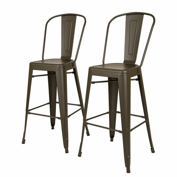 Lissa 30 Bar Stool (Set of 2) by Williston ForgeLissa 30 Bar Stool (Set of 2) by Williston Forge