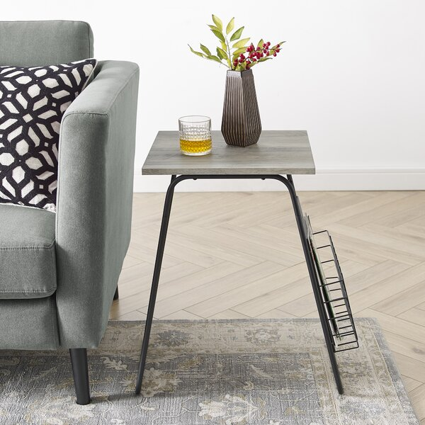 Hoffman End Table by Modern Rustic Interiors