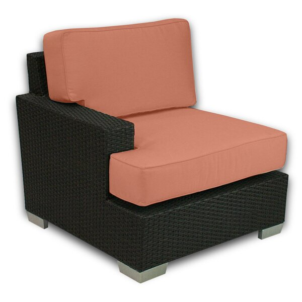 Sienna Sectional Chair with Sunbrella Cushions by Axcss Inc.