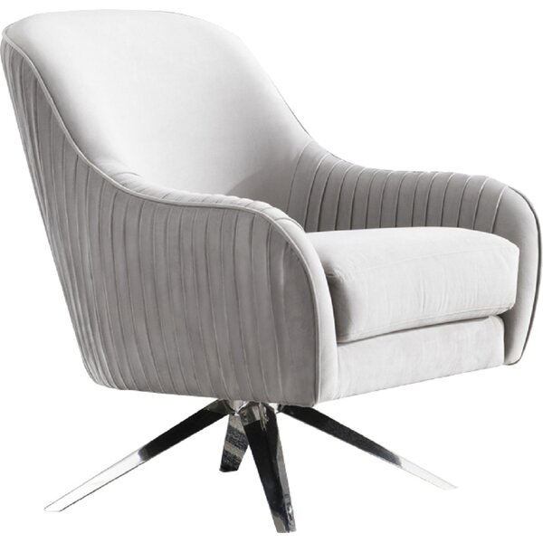 Noho Astor Swivel Armchair by Pasargad