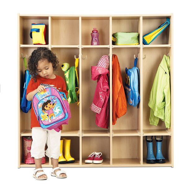 5 Section Coat Locker by Young Time