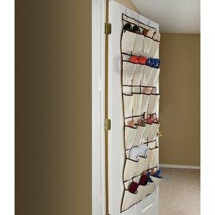 Shop for Pocket Fabric Storage Rack 12 Pair Hanging Shoe Organizer By Rebrilliant
