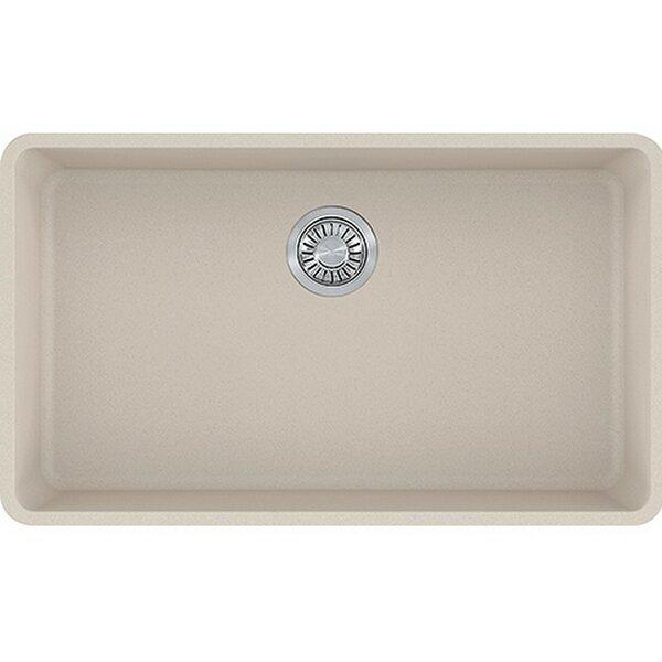 Kubus 32 L x 18 W Undermount Kitchen Sink
