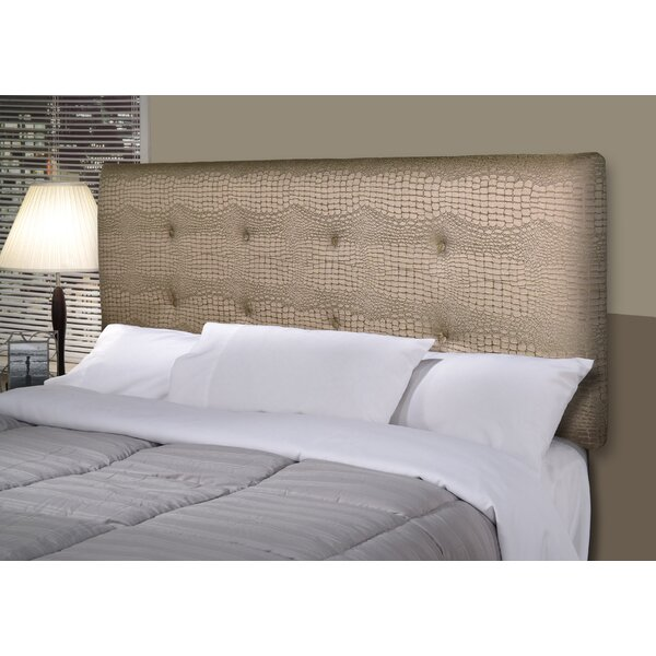 Mehar Upholstered Panel Headboard by House of Hampton House of Hampton