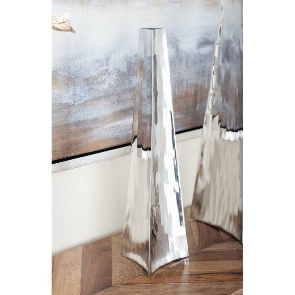 Stainless Steel Floor Vase by Cole & Grey