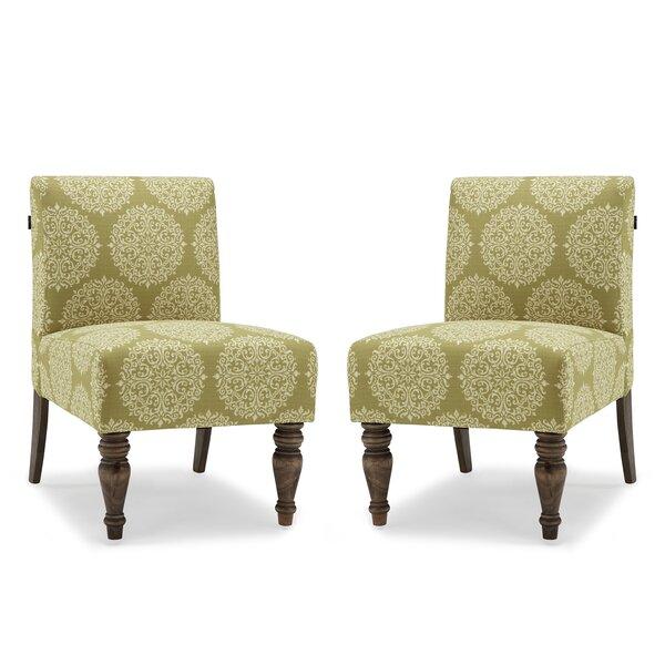 Craner Slipper Chair (Set of 2) by Charlton Home