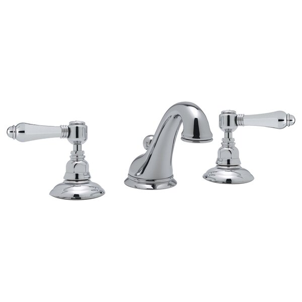 ROHL® Viaggio® C-Spout Widespread Lavatory Faucet with Lever Handles