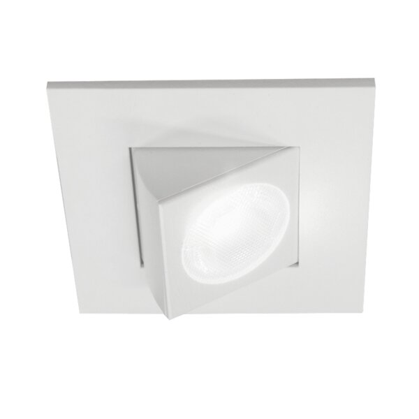 Square Eyeball LED Downlight Recessed Housing by NICOR Lighting
