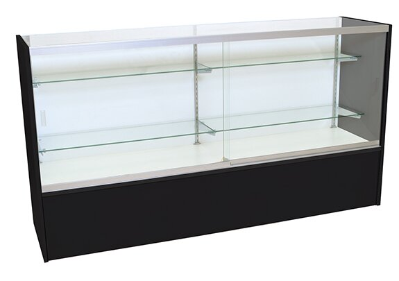 Front Opening Glass Showcase by KC Store Fixtures