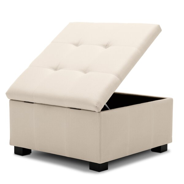 Lowrey Upholstered Tufted Storage Ottoman By Winston Porter