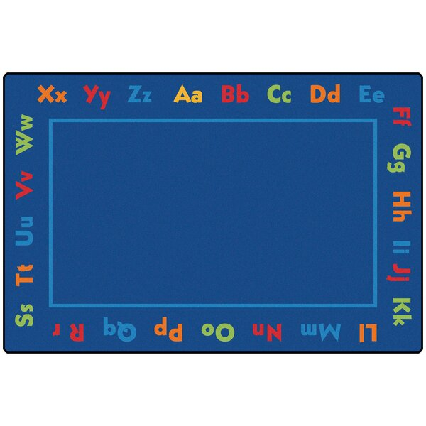 Value Plus Alphabet Area Rug by Carpets for Kids