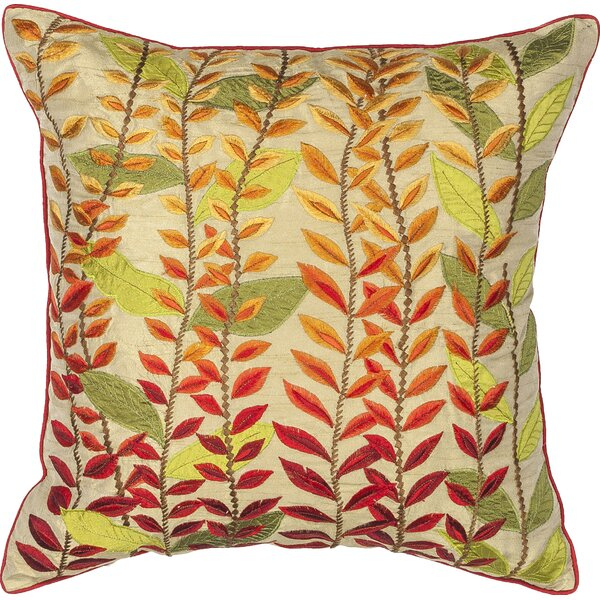 Stanley Autumn Leave Indoor/Outdoor Throw Pillow by Darby Home Co