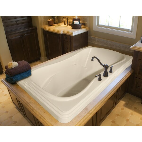 Designer Jennifer 72 x 48 Whirlpool Bathtub by Hydro Systems