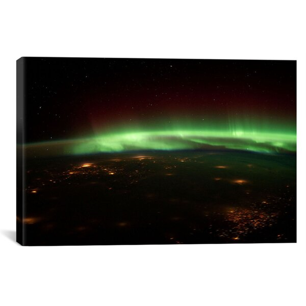 Astronomy and Space Aurora Borealis Graphic Art on Canvas by iCanvas