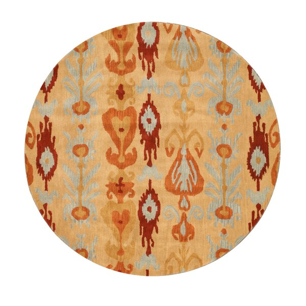 Keizer Hand-Tufted Beige Area Rug by The Conestoga Trading Co.