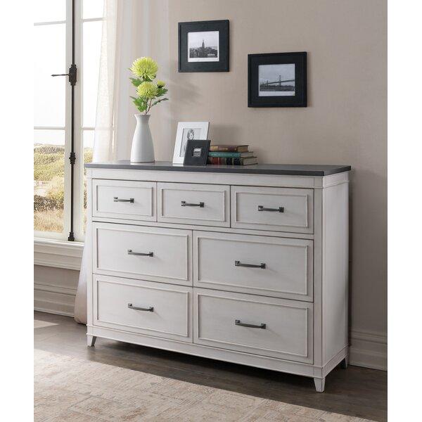 Del Mar 7 Drawer Double Dresser by Alcott Hill